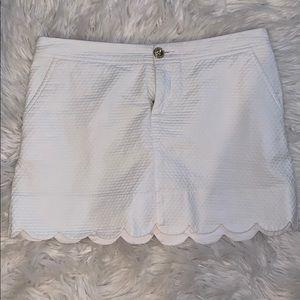 Lilly Pulitzer White Skirt